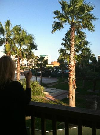 Port Royal Ocean Resort & Conference Center: Standing on our balcony