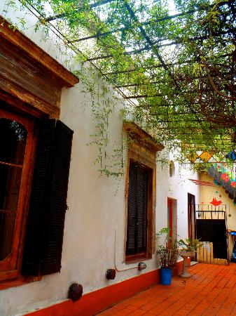 Kilca Hostel and Backpacker : Patio