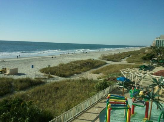 Westgate Myrtle Beach Oceanfront Resort: From the Balcony