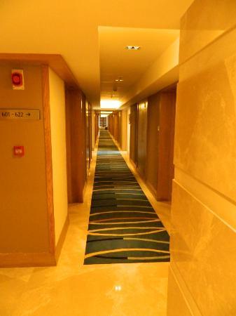 Grand Sarovar Premiere Mumbai: Hallway to the rooms