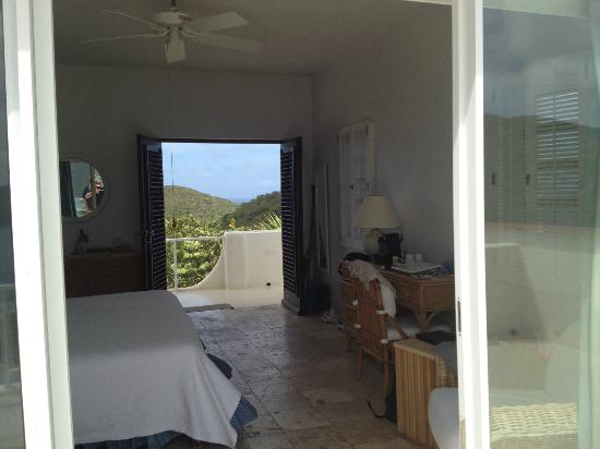 Guana Island: Upper Grenada room from balcony