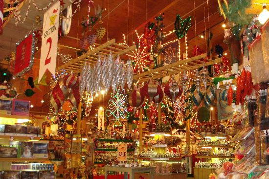 bronners christmas wonderland ornaments everywhere