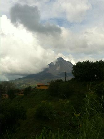 Nepenthe B&B: Great Volcano Views