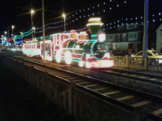 Blackpool Tramway: Old train tram