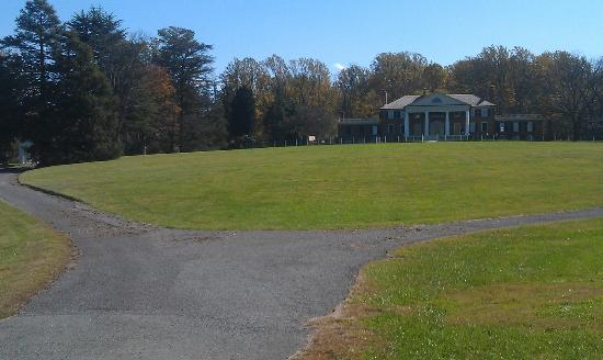 James Madison's Montpelier: Panoramic view of Montpelier