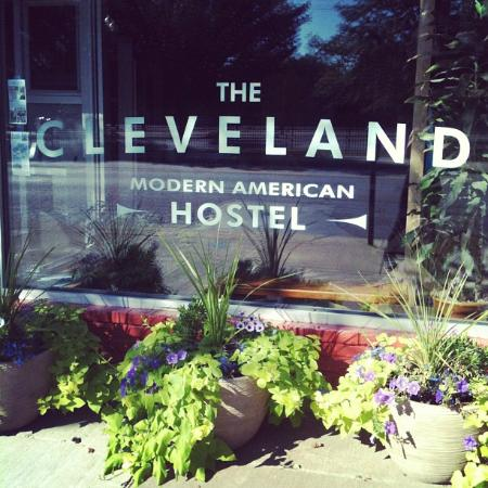 The Cleveland Hostel: Front Entrance