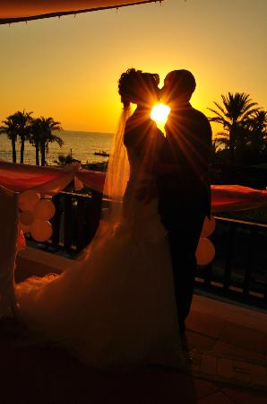 SENTIDO Perissia: The view at our amazing wedding