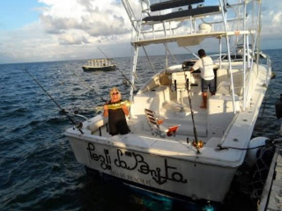 Marina La Bonita : my catch of the day Mahi Mahi