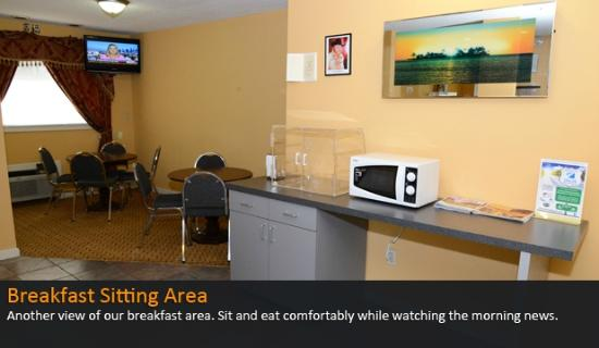 Americas Best Value Inn and Suites- Enterprise: Breakfast Area View 2