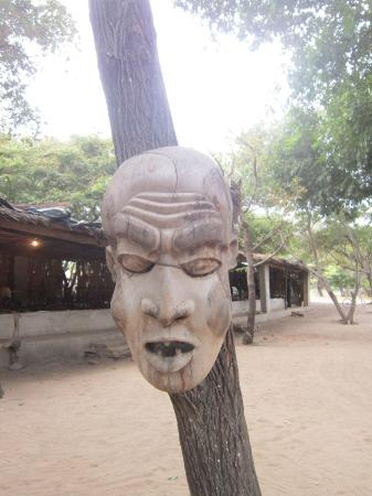 Sunbird Livingstonia Beach: Shops selling wooden articles