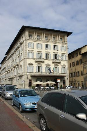 The St. Regis Florence: View of hotel from street