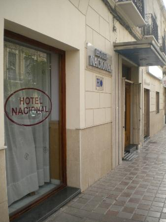 Hotel Nacional Melilla: Acceso al hotel