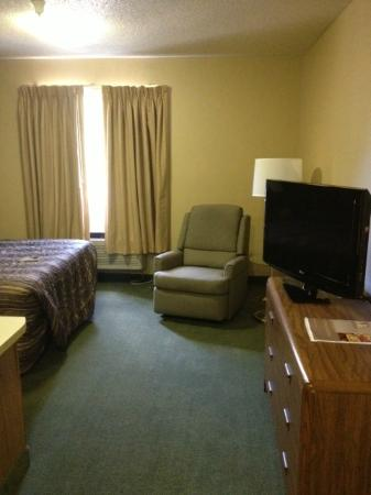 Extended Stay America - Greenville - Haywood Mall: Queen Studio Sitting Area