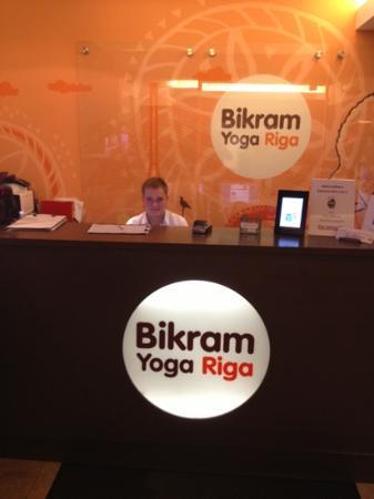 Bikram Yoga Riga reception