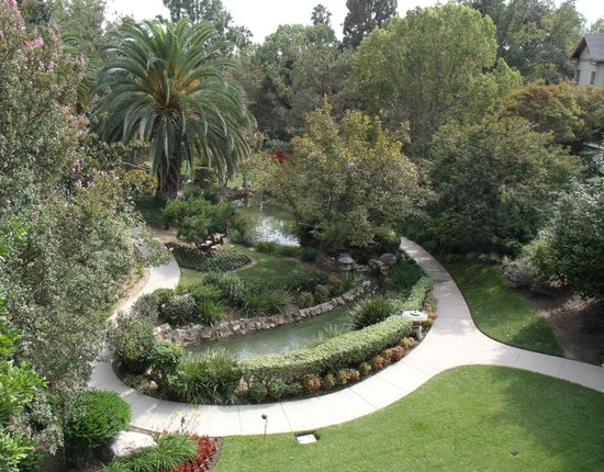 The Langham Huntington, Pasadena, Los Angeles: Lovely gardens
