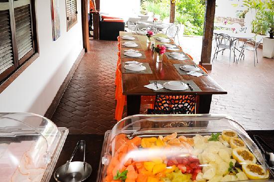 Casa Cool Beans B&B: Breakfast area