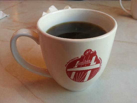 Silver Diner : The coffee is always hot and fresh!