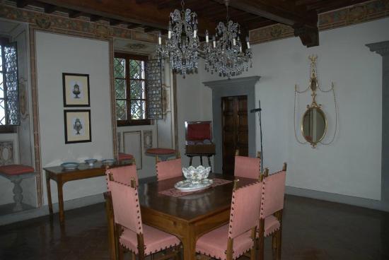 Villa  Vistarenni: dining room