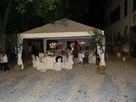 Villa  Vistarenni: the wedding