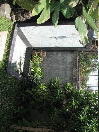 Uma Mandi Ubud: Душ возле бассейна