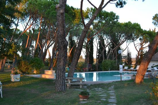 Agriturismo  Pieve Sprenna: Pool area