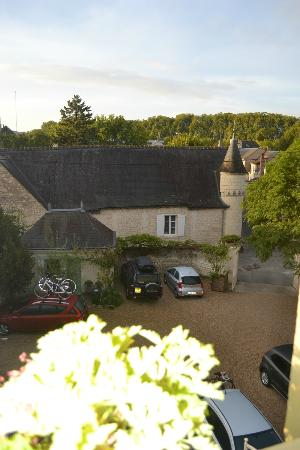 Hotel Diderot: View from our bedroom window