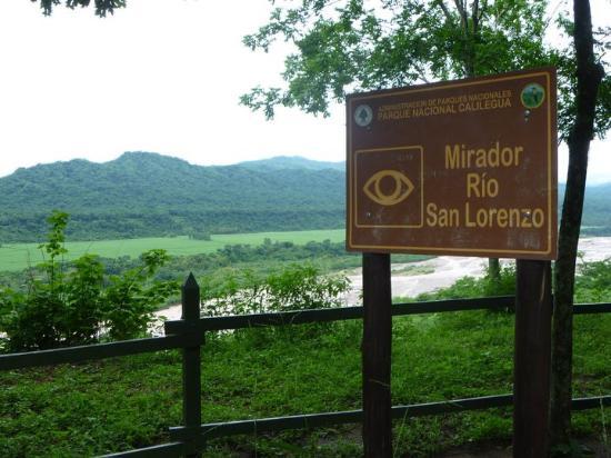 Parque Nacional Calilegua: Mirador Rio San Lorenzo