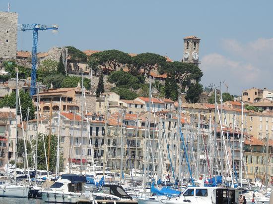 La Croisette: Paesaggio del porto