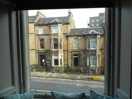 My Edinburgh Life: View to front from room 6
