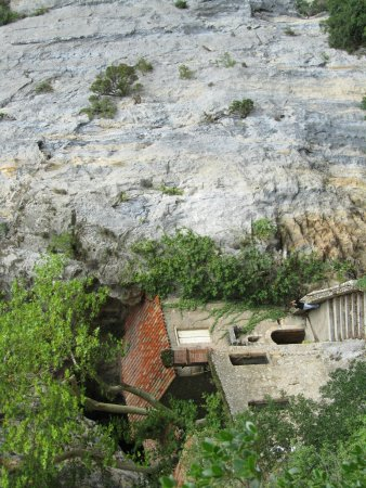 Gorges de Galamus: Kapelle