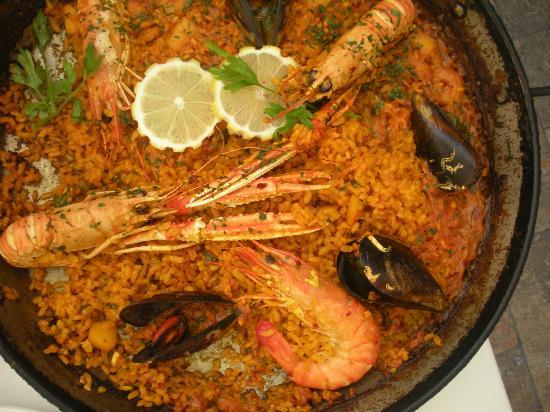 Restaurante Navarro: Paella di Mariscos