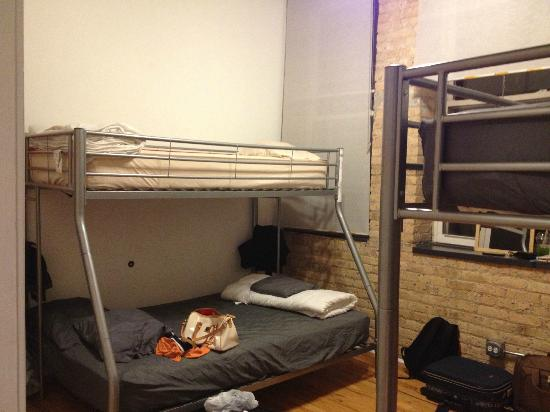Urban Holiday Lofts: Room for 5 person (Left)