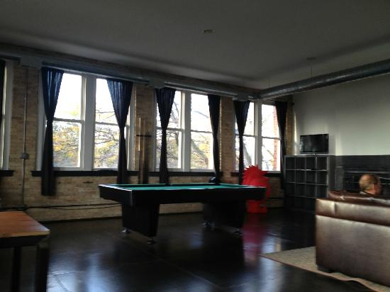Urban Holiday Lofts: Games Room