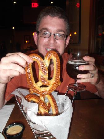 Sebago Brewing Co : pretzels