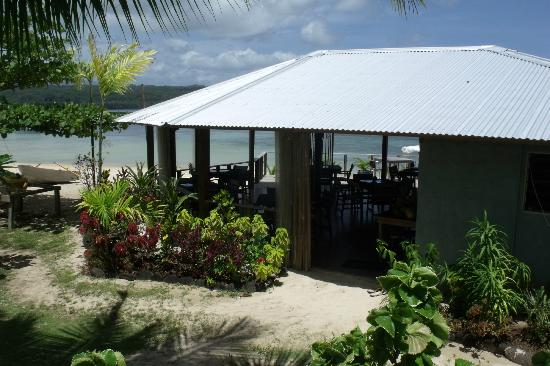 Savaii Lagoon Resort: The dining area