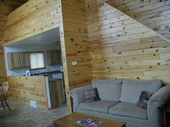Jasper Ridge Vacation Homes: Living Area