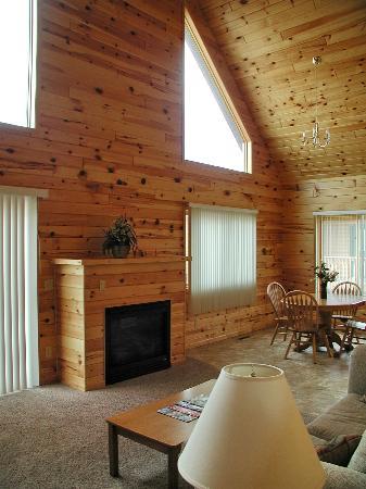 Jasper Ridge Vacation Homes: Interior Fireplace