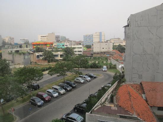 Morrissey Hotel Residences: view from room 410
