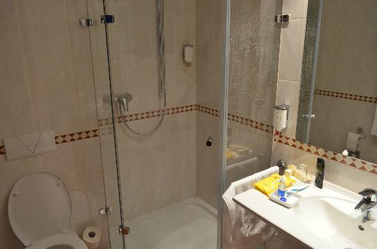 Waldhotel Nachtigall: Baño