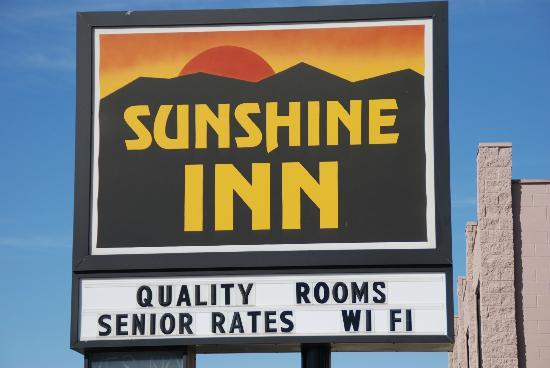 Sunshine Inn: Best Sleep
