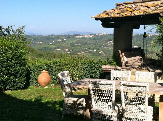 Fattoria Corzano e Paterno: View from Casa Corzano