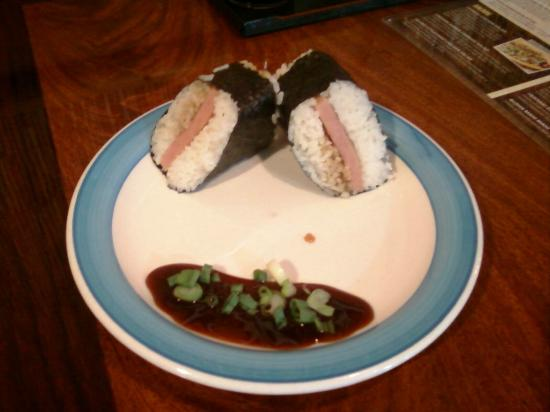 The Loft Hawaiian Restaurant: Spam Musubi