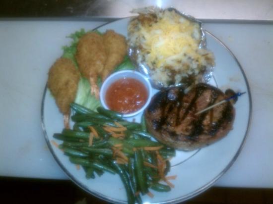 Moose Creek Cafe - Steak n Shrimp Friday Nite