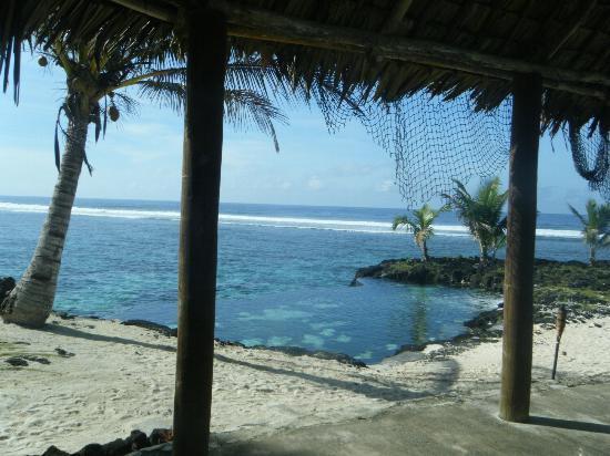 The Infinity pool Picture of SaMoana Beach Bungalows Salamumu