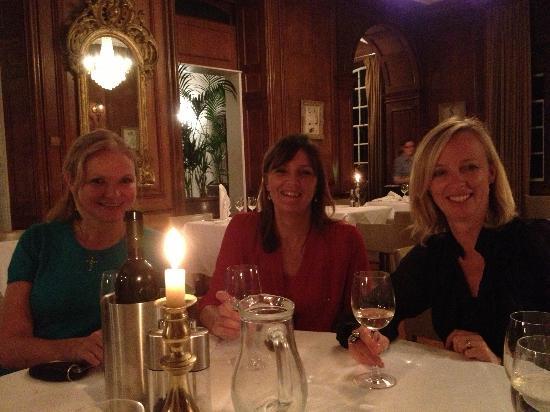 Dinner at Fowey hall hotel