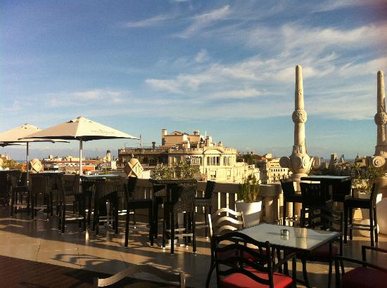Casa Fuster Hotel: view from hotel roof