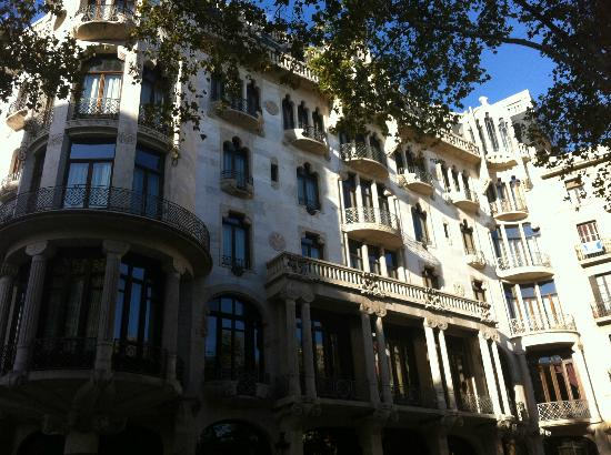 view from hotel roof picture of casa fuster hotel. Black Bedroom Furniture Sets. Home Design Ideas