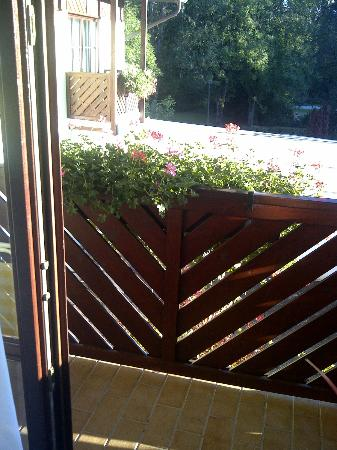 Parkhotel zur Klause: Balkon