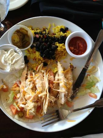 Jack's Seafood Shack: Chicken and Cilantro Tacos
