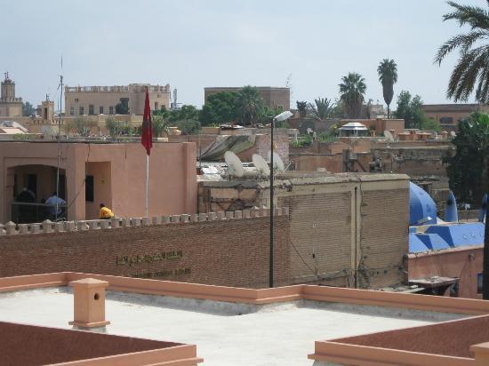 MonRiad: Vista dalla terrazza